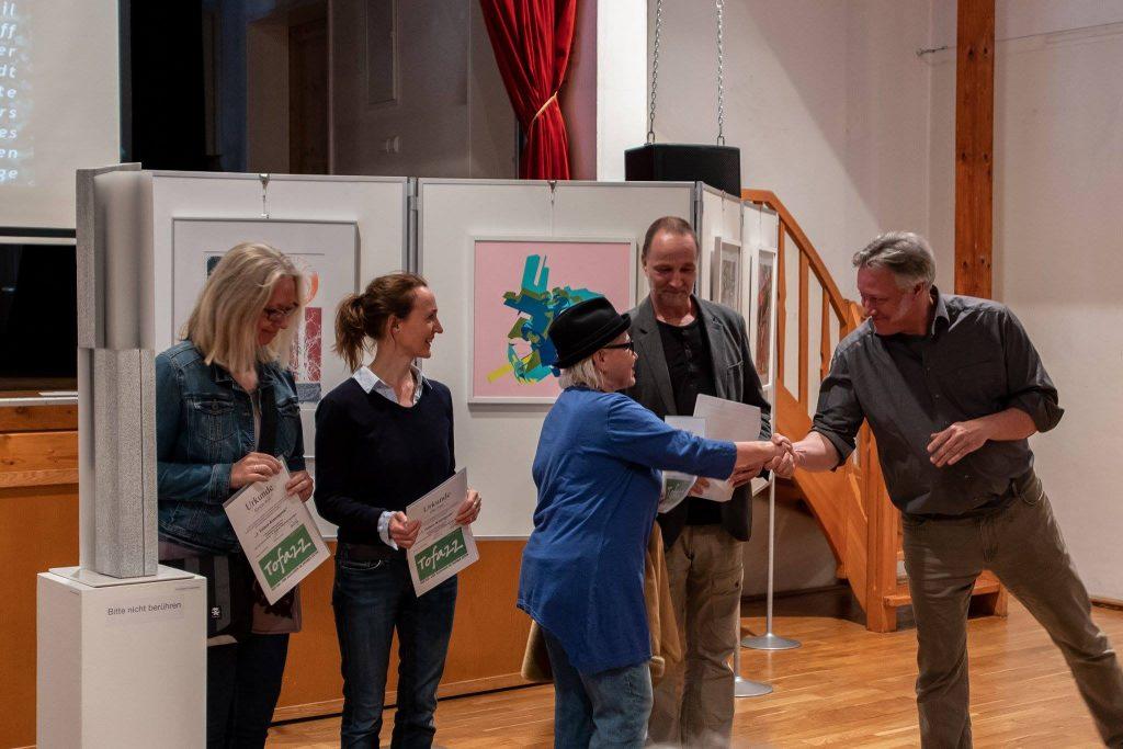 Verleihung des Tofazz Kunstpreises